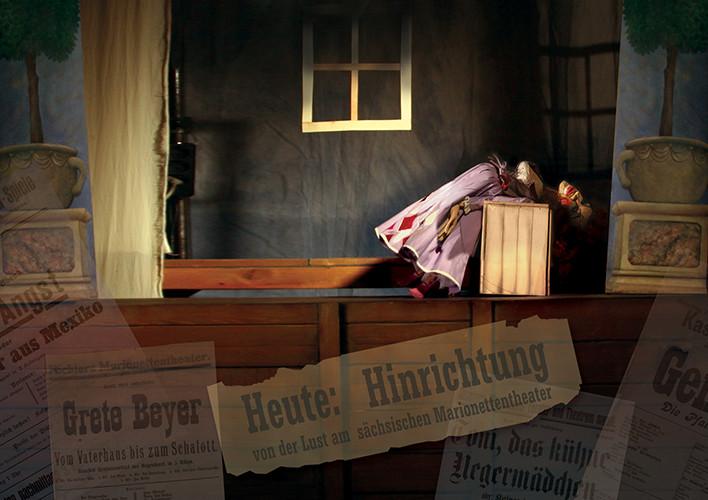 Heute: Hinrichtung! Oder: Von der Lust  am Marionettentheater