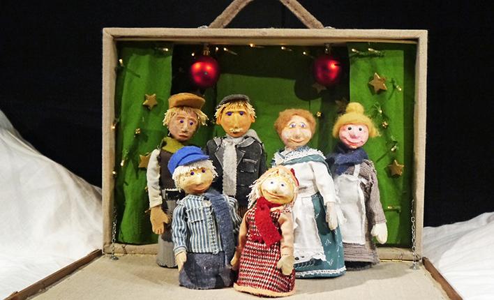 Michel feiert Weihnachten